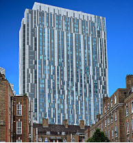 Located moments from the famous Gherkin in